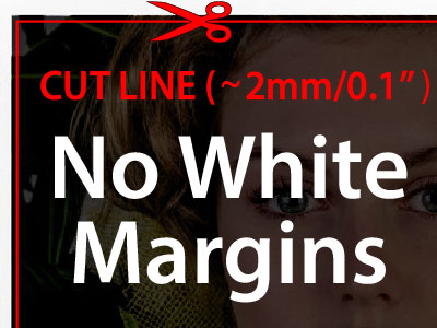 No white margins