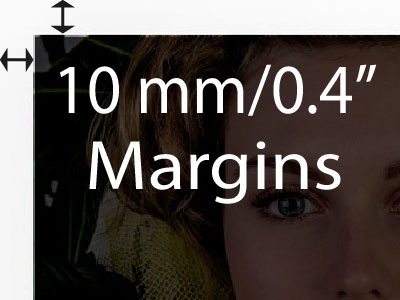 10mm margin