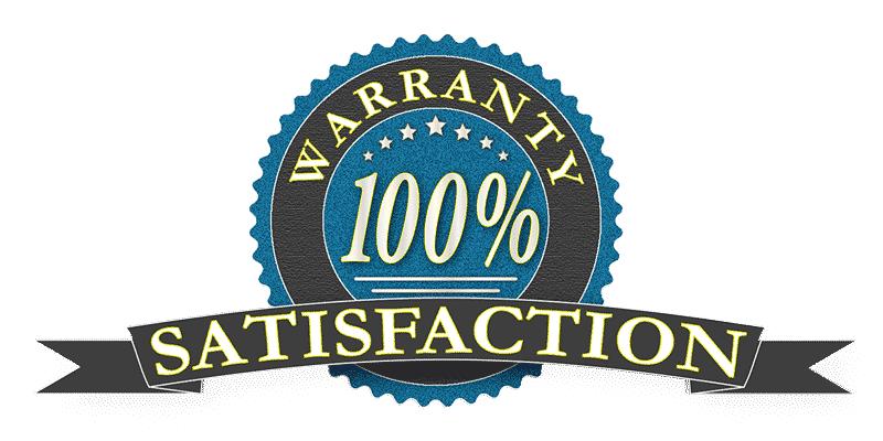 Satistaction warranty
