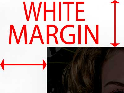 White margins