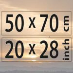 50x70cm – (20×28″)